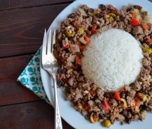 picadillo made with venison