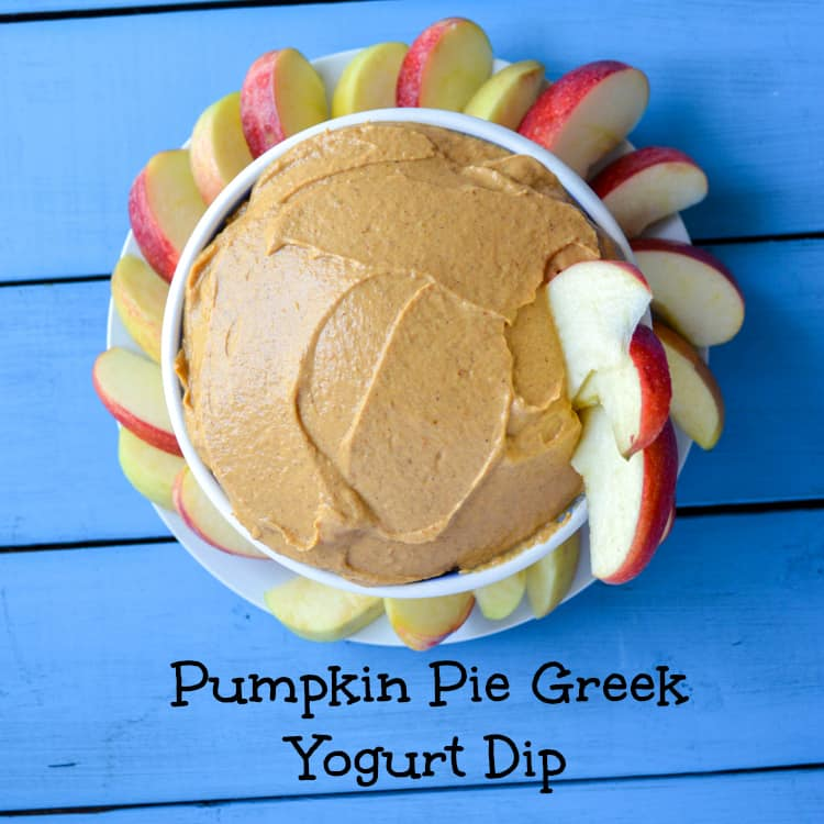 pumpkin greek yogurt dip recipe