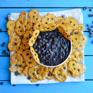 Black Bean Brownie Dip