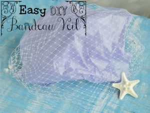 How to Make a Wedding Veil - Easy DIY Bandeau Veil