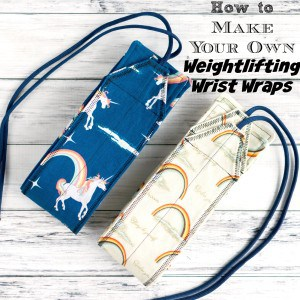 DIY Weightlifting Wrist Wraps Pattern & Tutorial