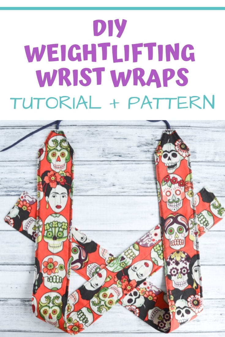 Learn how to make your own weightlifting wrist wraps - tutorial and free pattern!
