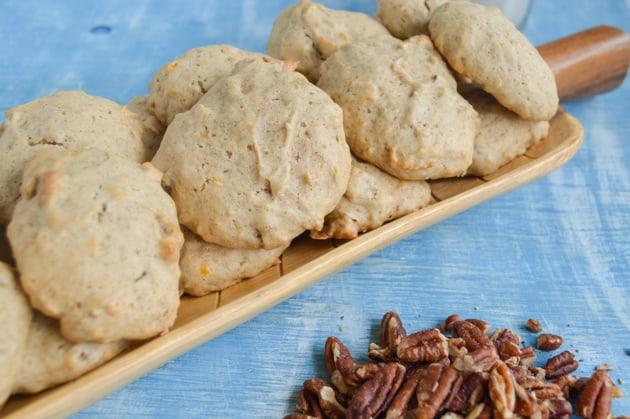 Plantain Pecan Cookies