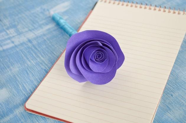 decorative guest book pen