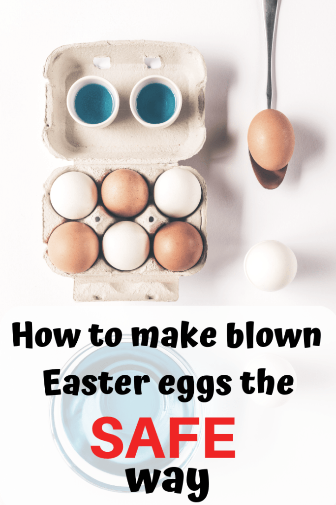 How to make blown easter eggs the safe way