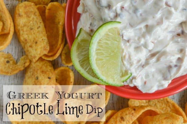 Greek Yogurt Chipotle Lime Dip