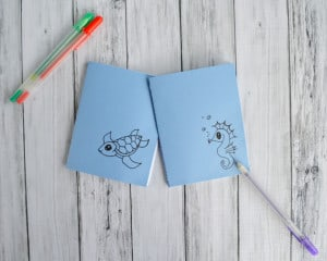 Back to School DIY Doodle Notebook Tutorial (with Printable!)