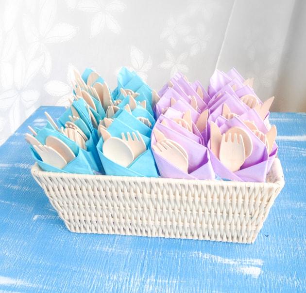 diy silveware pouches