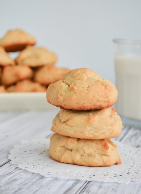 Cake-Like Peanut Butter Cookies