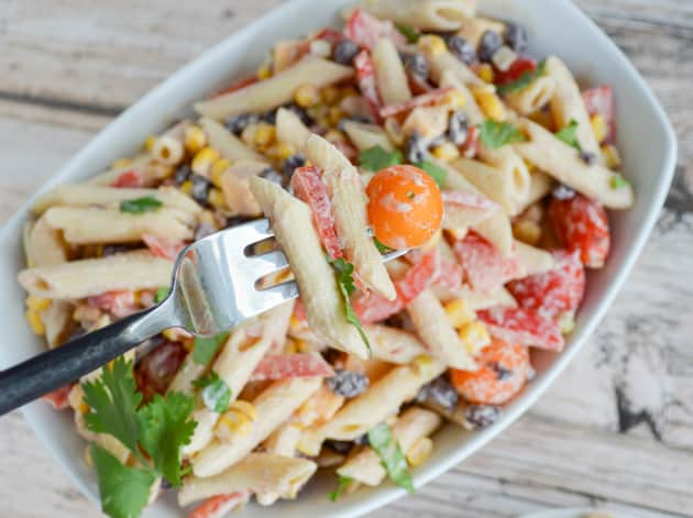 Greek Yogurt Pasta Salad