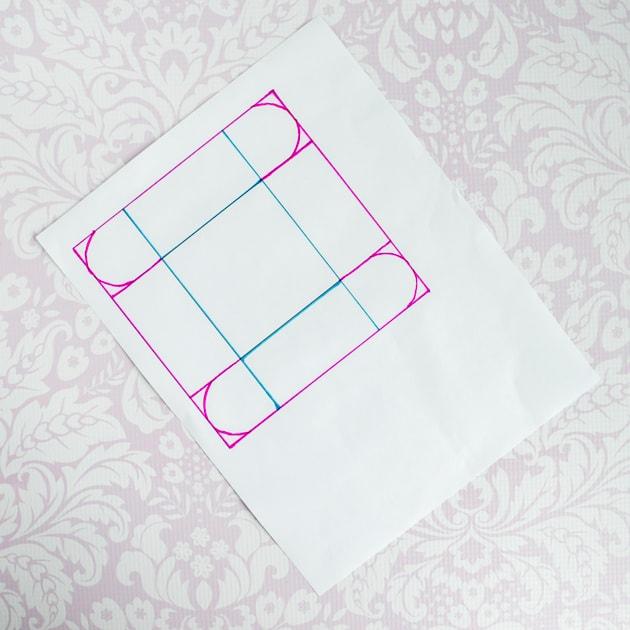 mini fabric bin pattern