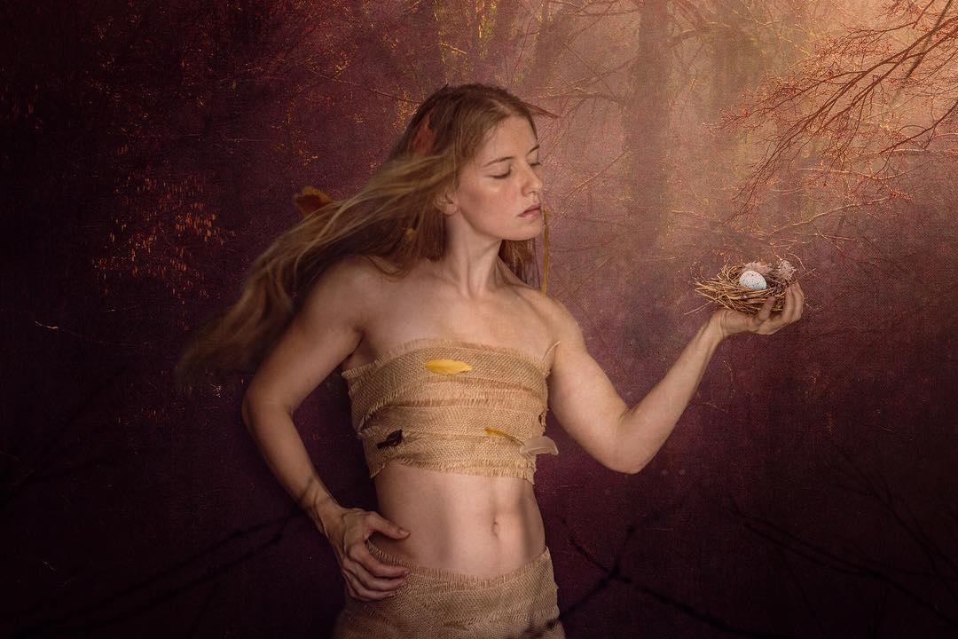"""Wild Magic"" self portrait"