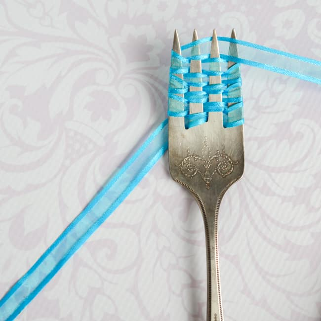 continue wrapping fork