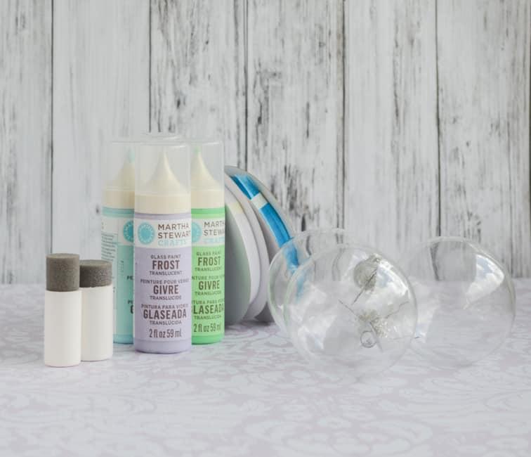 supplies for beach glass ornaments