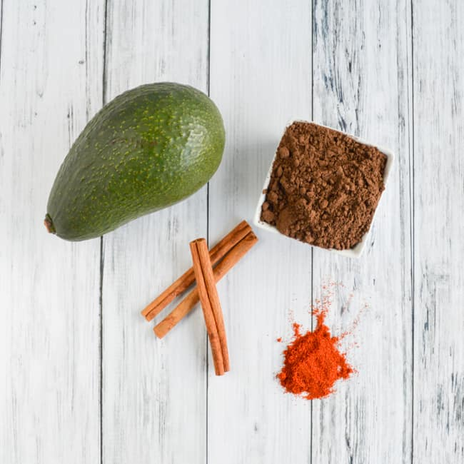avocado smoothie ingredients