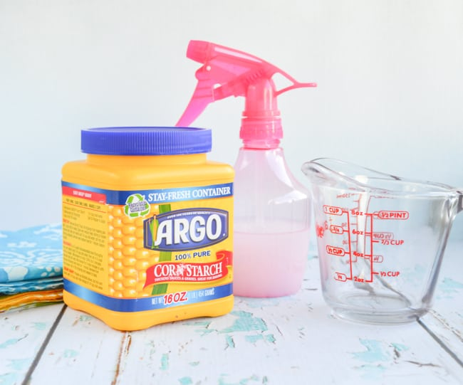 materials for diy spray starch
