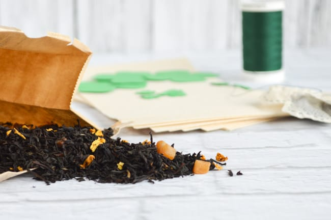 materials for shamrock tea bags