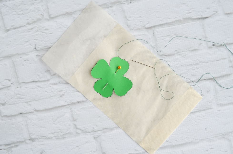 sew around the shamrock