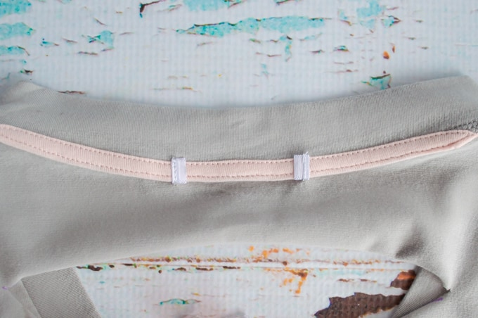 cut out collar tag