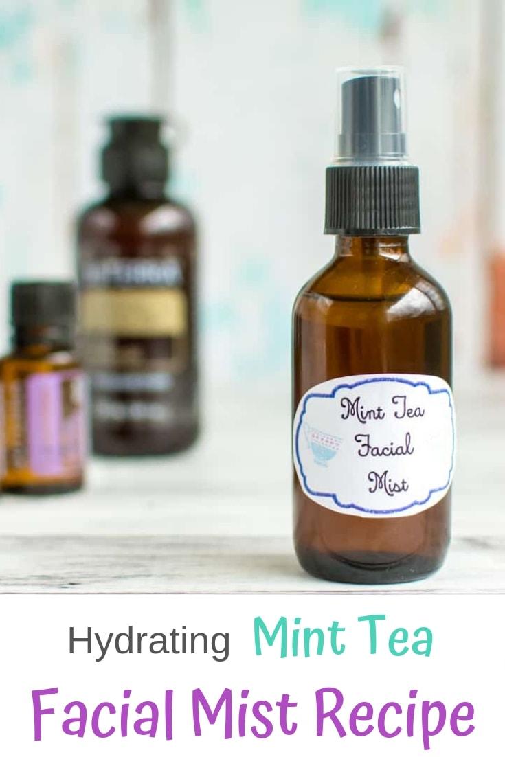 Hydrating mint tea facial mist recipe