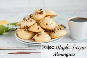 Paleo Maple Pecan Meringues Recipe
