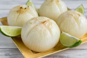 Salted Lime Mexican-Inspired Roasted Onions