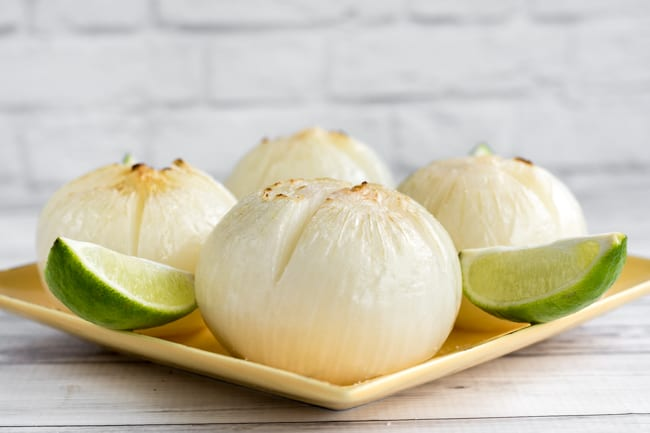 oven roasted salted lime onions