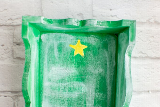 painted rustic star