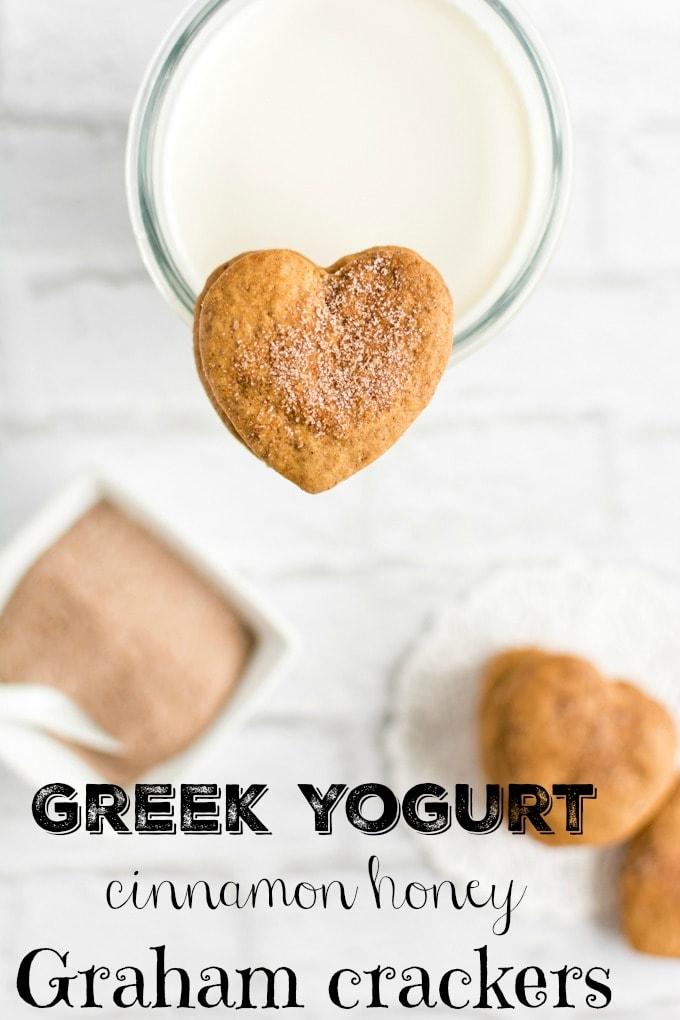 Greek Yogurt Cinnamon Honey Graham Crackers