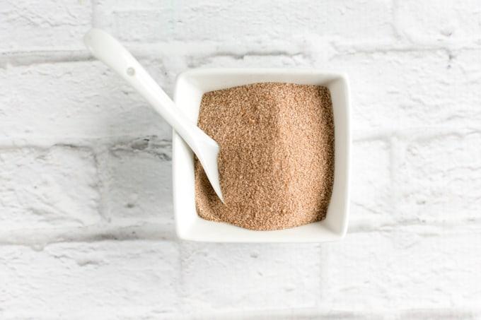 cinnamon topping for homemade graham crackers