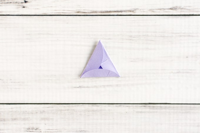 how to make triangle template 6