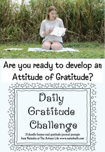 Daily Gratitude Challenge - Free Printable Gratitude Journal