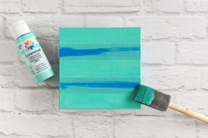 paint the canvas panel