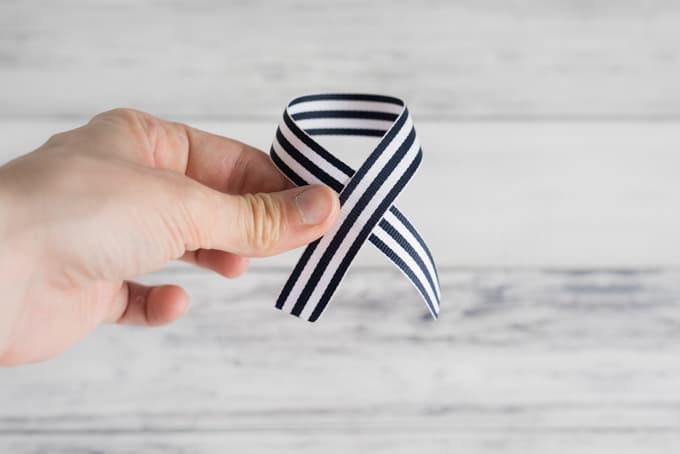 fold-over-ribbon