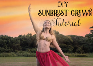 DIY Sunburst Headdress Tutorial - Saint's Headband Tutorial