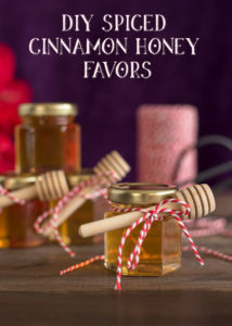 DIY Spiced Cinnamon Honey Favors - Cinnamon Infused Honey Recipe