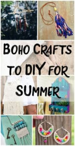Boho Crafts to DIY for Summer