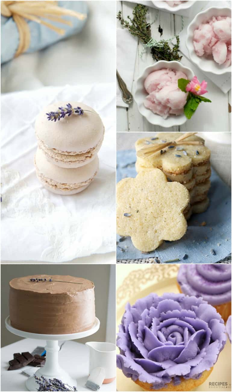 lavender recipes roundup
