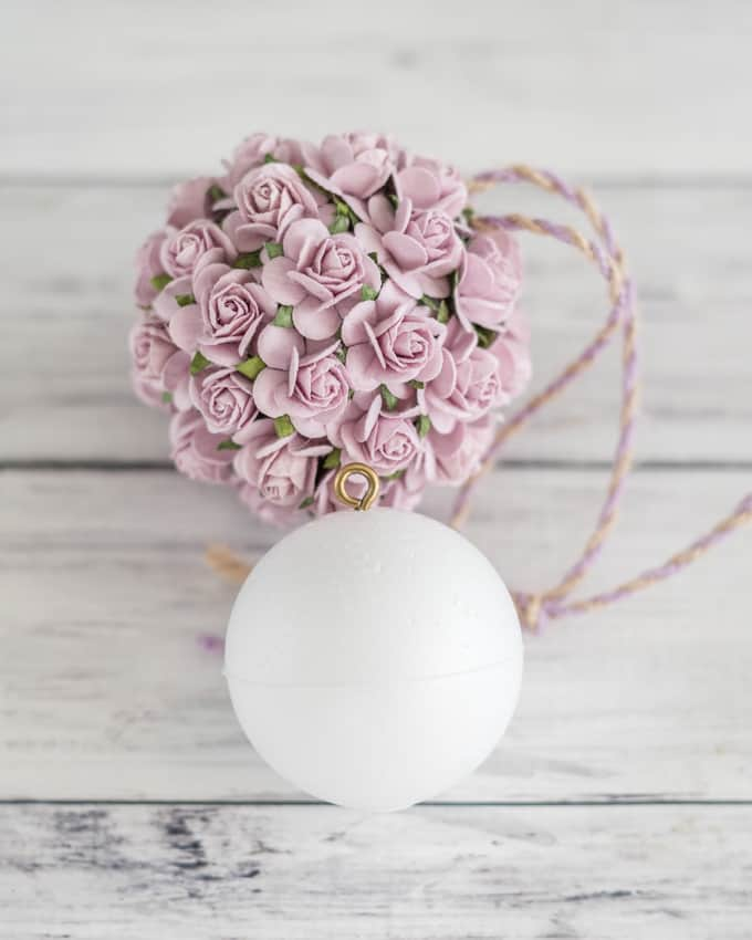 Paper Flower Kissing Ball Tutorial Diy Wedding Paper Flower