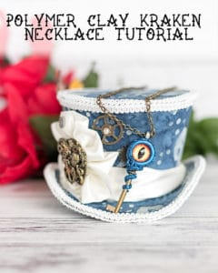 DIY kraken necklace tutorial