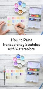 How to Paint Transparency Swatches with Watercolors - Get to Know your Watercolors class series on Skillshare