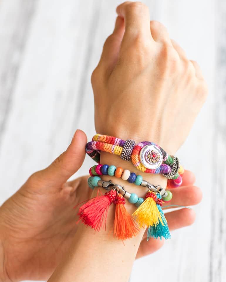 tips for making easy bracelets