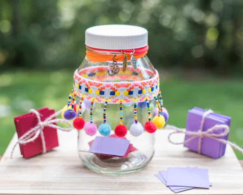 Complaint Free Week Challenge jar