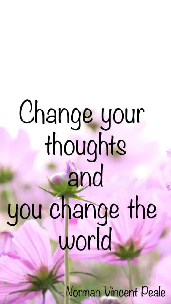 change your thoughts phone wallpaper