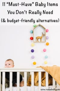 11 must-have baby items you don't really need (and what to use instead)