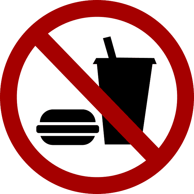 avoid fast food, soda, and alcohol while flying