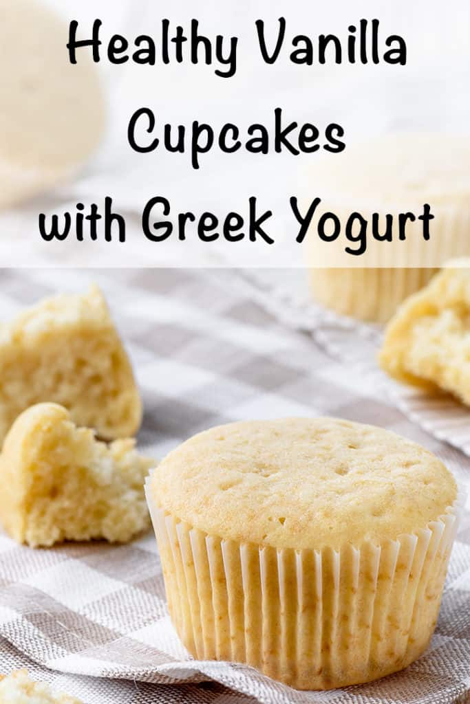 Healthy Vanilla Cupcake Recipe - The Artisan Life