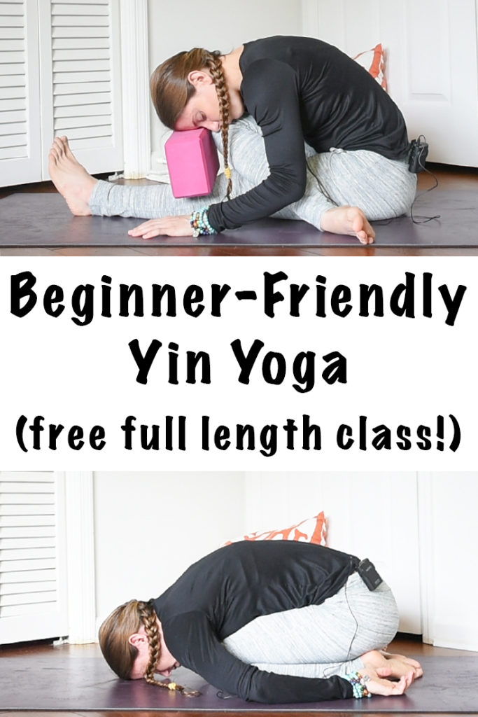 beginner friendly yin yoga sequence