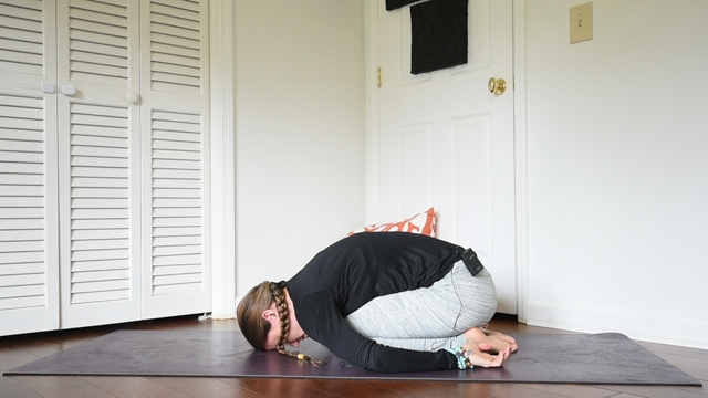 beginner yin yoga sequence child's pose