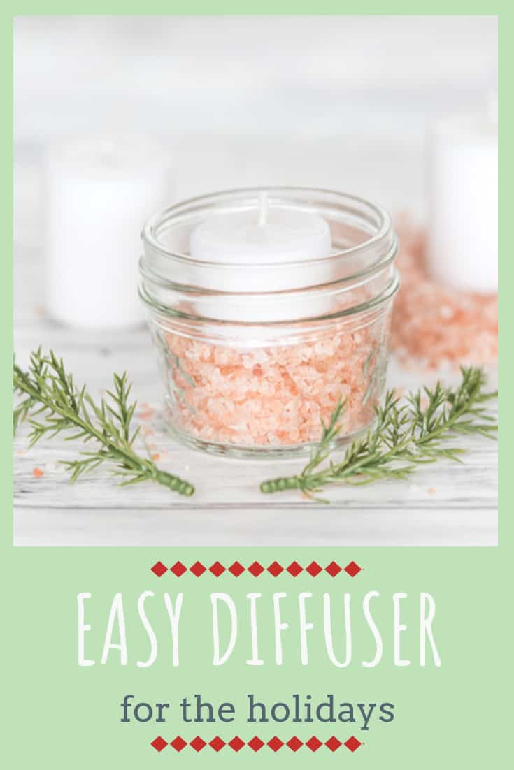 easy essential oil diffuser for the holidays